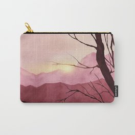 Sunset & landscape Carry-All Pouch