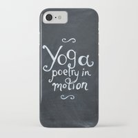 yoga iPhone & iPod Cases featuring YOGA! by Jon Cain
