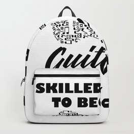 skilled enough to become a guitarist Backpack