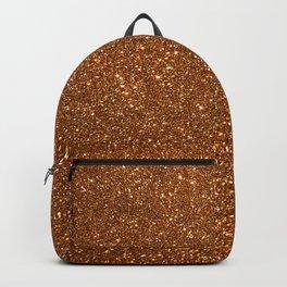Soft Rose Gold Glitter Backpack