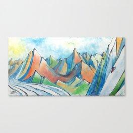 Push Yourself Canvas Print
