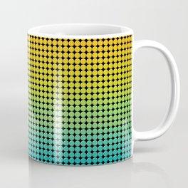 Blue and red pattern Coffee Mug
