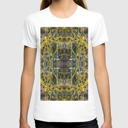 Brittle Bush Burst Pattern in Canary Yellow T-shirt