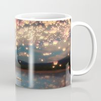 marianna Mugs featuring Love Wish Lanterns by Paula Belle Flores
