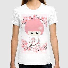Sakura Kokeshi T-shirt