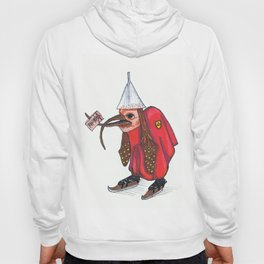 Bird With Letter Hoody
