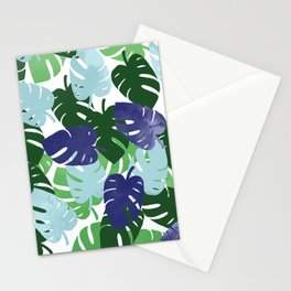 Palm Leaves Pattern Stationery Cards