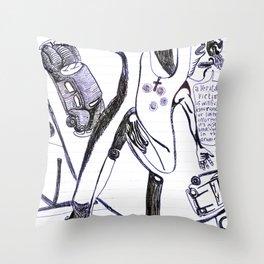"""cul de sac"" Throw Pillow"