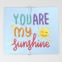 The Sunshine Love Throw Blanket