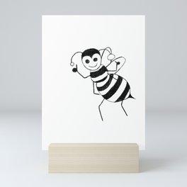 Save the Bees, Son Mini Art Print