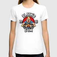 gym T-shirts featuring Sloth's gym by Buby87