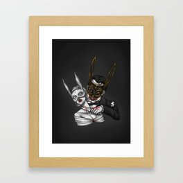 The March Hare (Bioshock) Framed Art Print