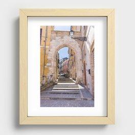 Porta Pescara, Old Arch Recessed Framed Print