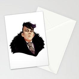 Fashion icons ft Oswald Cobblepot Stationery Cards
