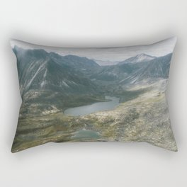Mackenzie Mountains Rectangular Pillow