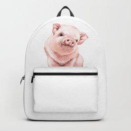 Pink Baby Pig Backpack