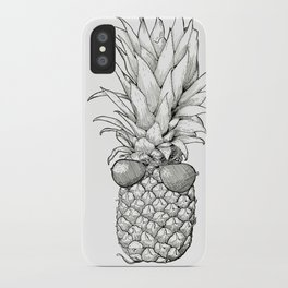 Sunny Days Pineapple iPhone Case