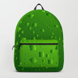 Spring mosaic of cubic lines. Backpack