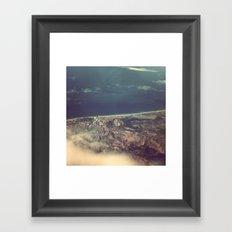 Perpignan From The Air Framed Art Print