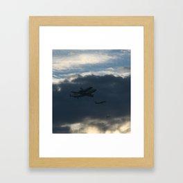 We All Need A Little Help Framed Art Print