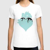 pastel goth T-shirts featuring Pastel Goth Heart by Minette Wasserman