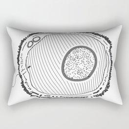 Huevos (on White) Rectangular Pillow