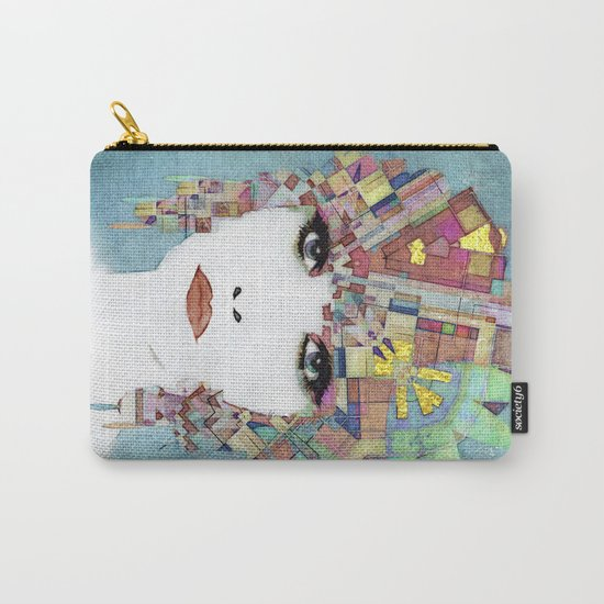 Nouveau Girl 4 (aged finish) Carry-All Pouch