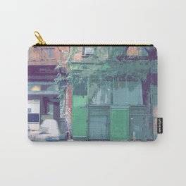 Bleeker St, New York Streetscape Carry-All Pouch