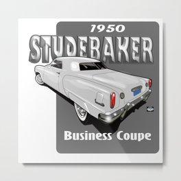 1950 Studebaker Business Coupe Metal Print