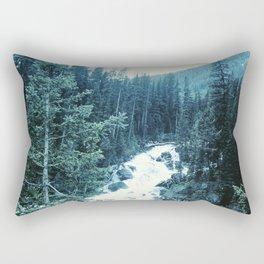 Mountan Stream Rectangular Pillow