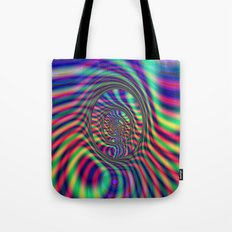 Psychedelic Ovals Tote Bag