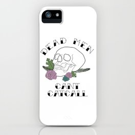 CATCALL ANNOUNCMENT iPhone Case