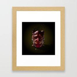 It's a mad world. Framed Art Print