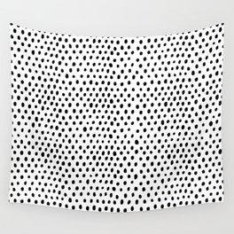 Polka dot rain Wall Tapestry