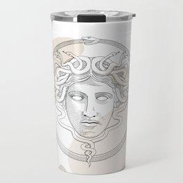 medusa / Classical Greek minimal Travel Mug