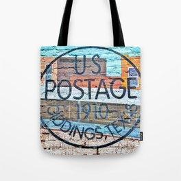 US Postage 1910 Giddings Texas Tote Bag