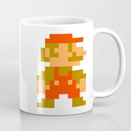 Pixel Mario Coffee Mug