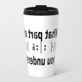 Bobsled Travel Mug