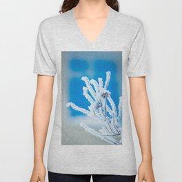 Frozen branch Unisex V-Neck