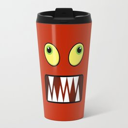 Funny monster face Travel Mug