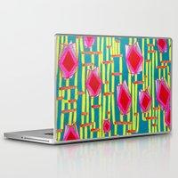 tiki Laptop & iPad Skins featuring Tiki Torture by Katie Anderson Art