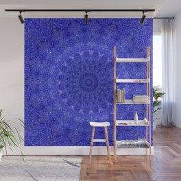Cosmos Mandala II Cobalt Blue Wall Mural
