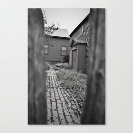 Place of Damnation Canvas Print