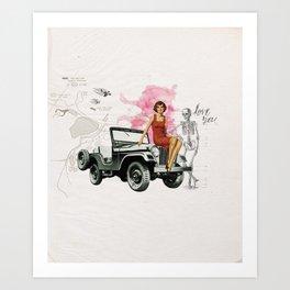 Bomshell Art Print