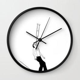 balance beam Wall Clock