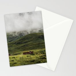 Norwegian mountain Stationery Cards