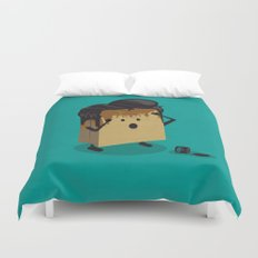 Fashion Victim Duvet Cover