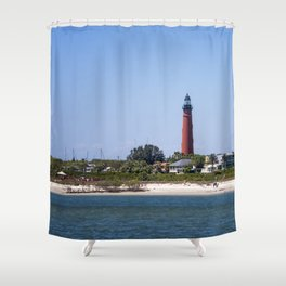Sunny Day at Ponce Inlet Shower Curtain