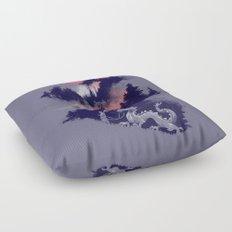 Samurai's life Floor Pillow