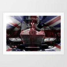 The great British Rolls Art Print